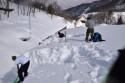 SL館雪下ろしを行いました。