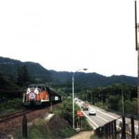 「さよなら列車」南大夕張~遠幌間、昭和62年 7月21日