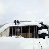 SL館の雪おろしを開催します